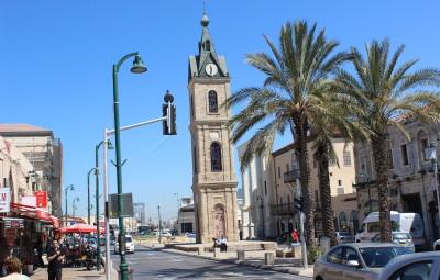 Kulla e ores ne qytetin e vjeter Jaffa