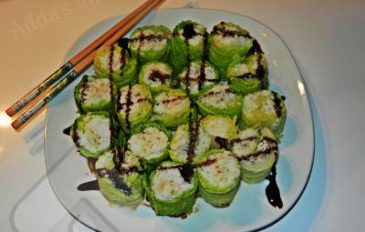 sushi di verza
