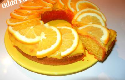 torta me portokalle