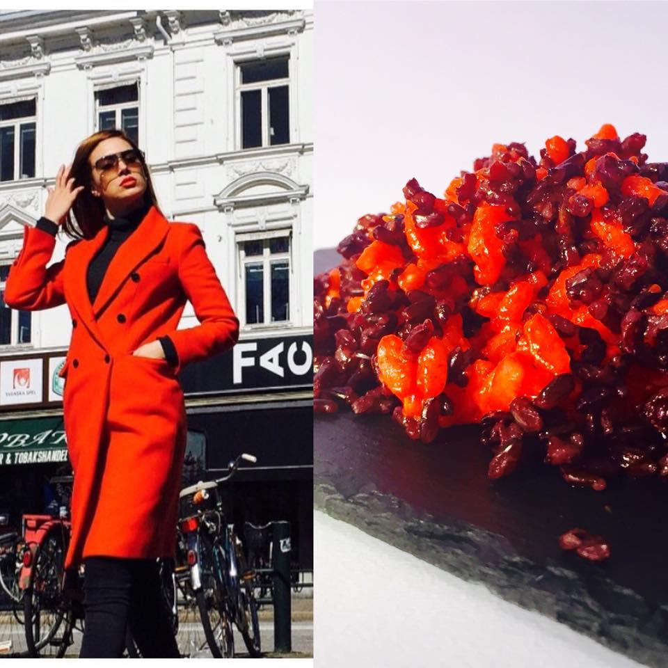 Fashion food inspiruar nga elvana gjata by@addasall